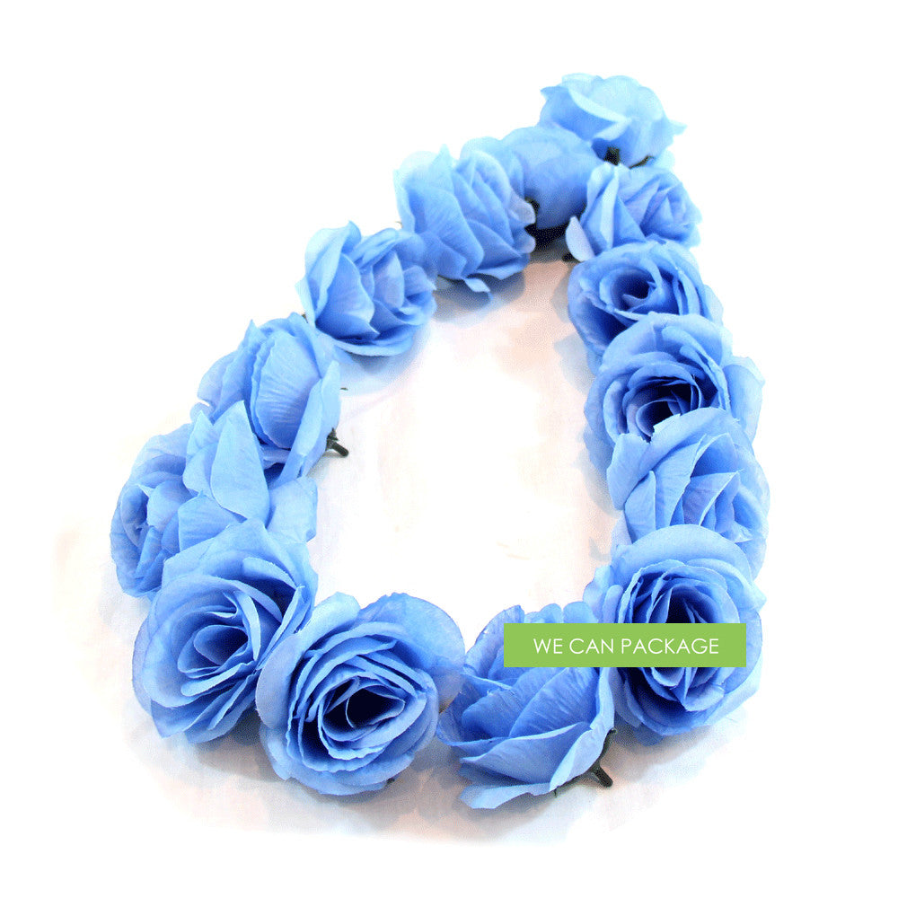 Sky Blue Rose Flowers, Light Blue Artificial Roses