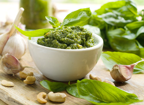 Paleo Basil Pesto with Cashews