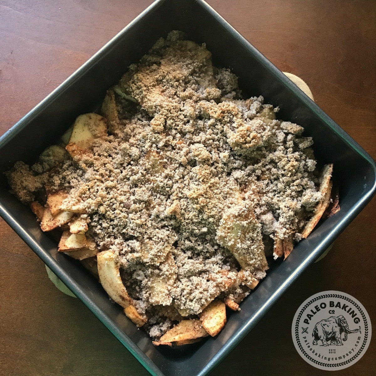 Paleo recipe for apple crisp