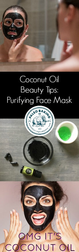 Coconut Oil Beauty Tips: Purifying Face Mask