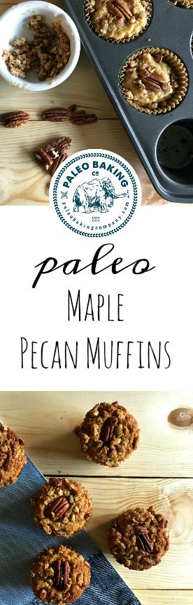 Paleo Maple Pecan Muffins Pinterest
