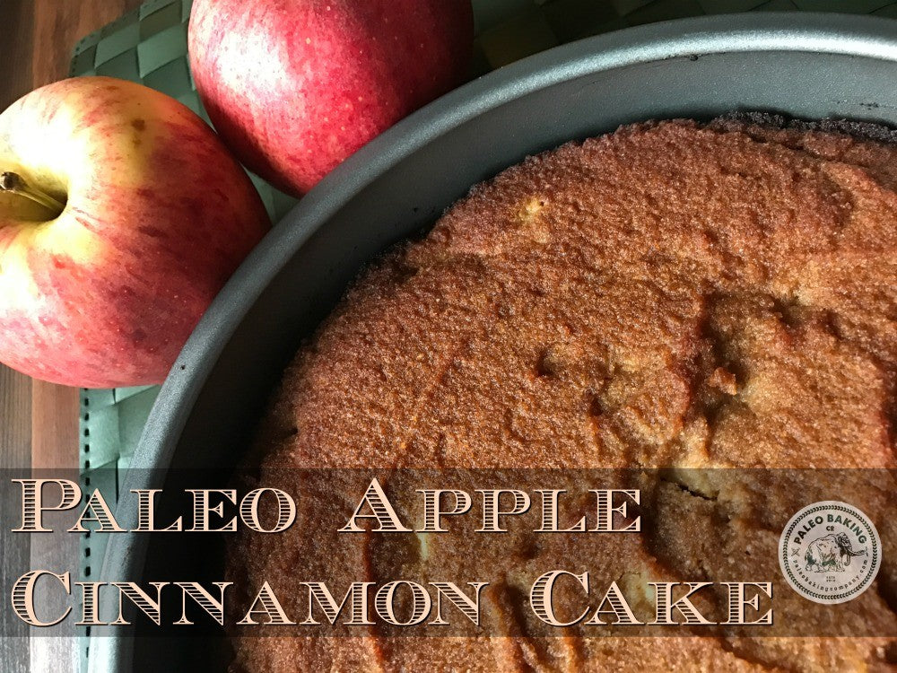 Paleo Apple Cinnamon Cake Recipe