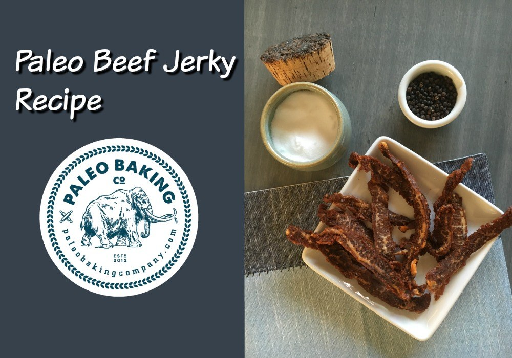 Paleo Beef Jerky, 4 Simple Ingredients