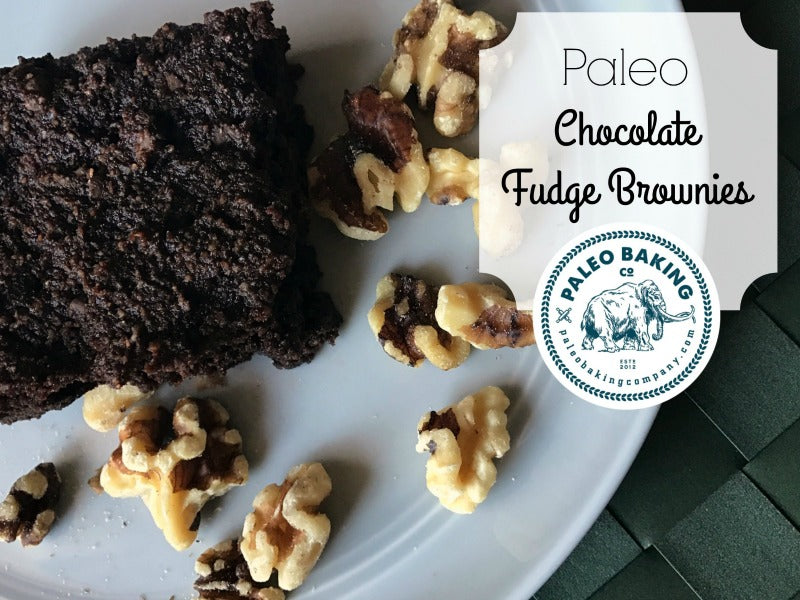 Paleo Chocolate Fudge Brownies by Paleo Baking Company
