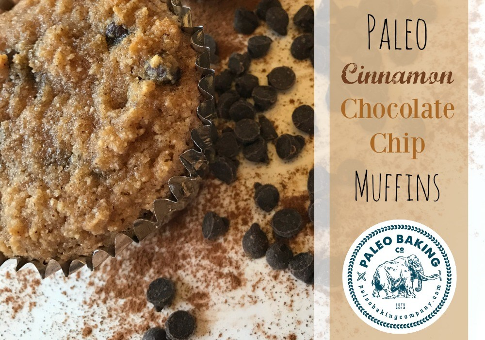 Paleo Cinnamon Chocolate Chip Muffins