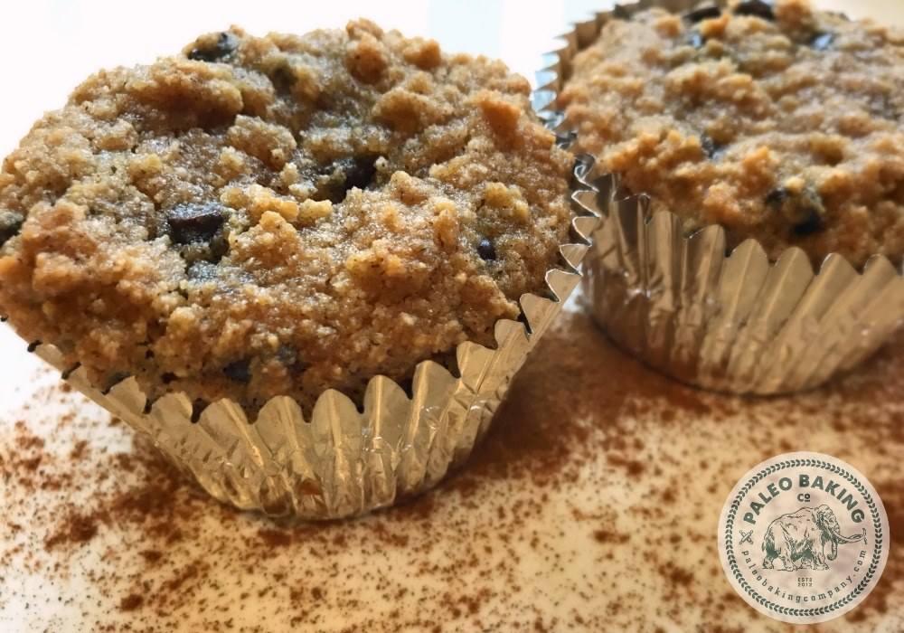 Paleo Cinnamon Chocolate Chip Muffins Recipe