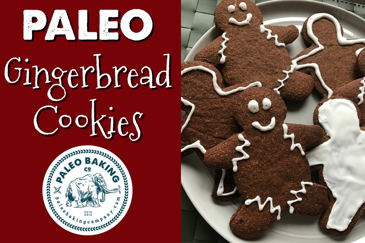 Paleo Ginger Bread Cookies