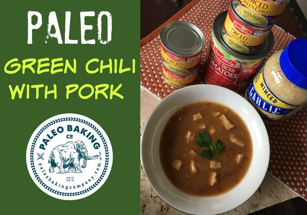 Paleo Green Chili with Pork