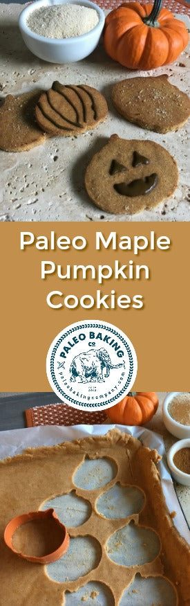 Paleo Maple Pumpkin Cookies for Pinterest