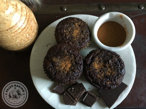 Paleo Mexican Hot Chocolate Cake Muffins Gluten Free