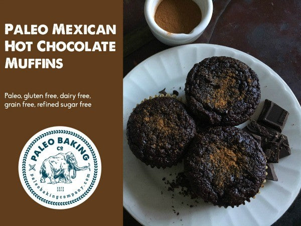 Paleo Mexican Hot Chocolate Muffins Header WM