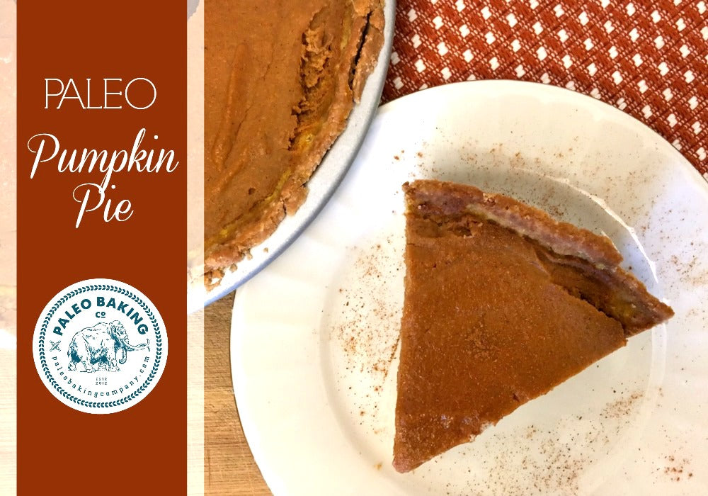 Paleo Pumpkin Pie Recipe by Paleo Baking Company