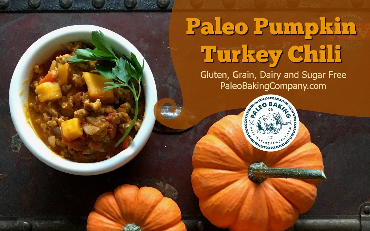 Paleo Pumpkin Turkey Chili
