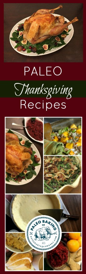 Paleo Thanksgiving Recipes for Pinterest