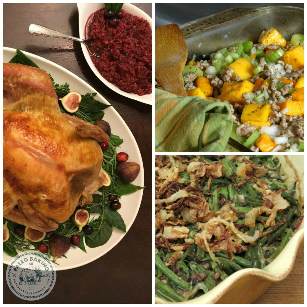 Paleo Thanksgiving Recipes by Paleo Baking Company