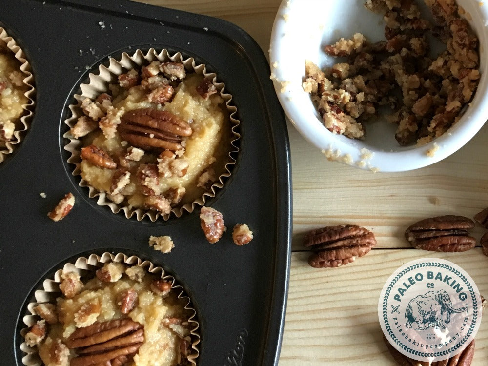 Paleo Maple Pecan Muffin Recipe