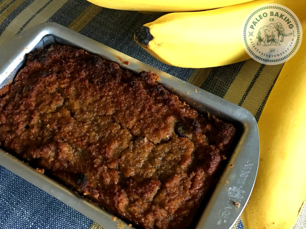 Paleo Chocolate Chip Banan Bread Mini Loaf