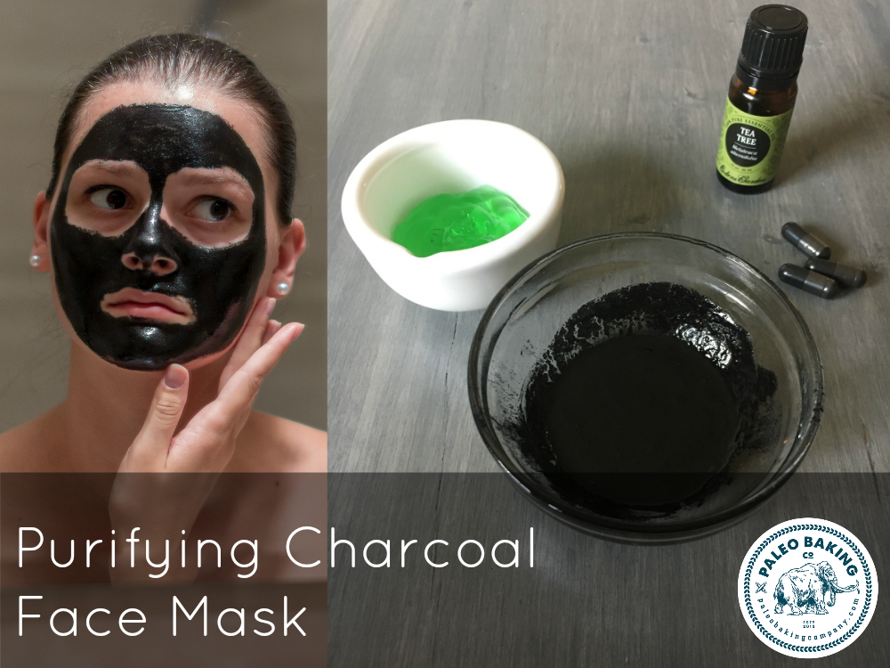 Purifying Charcoal Face Mask