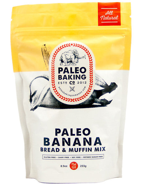 Paleo Banana Bread and Muffin Mix