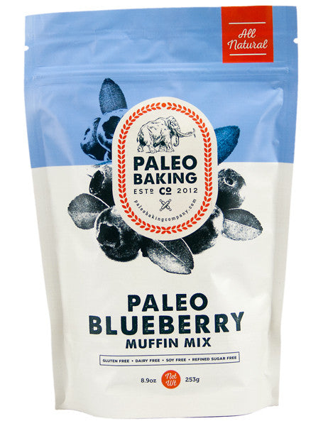 Paleo Blueberry Muffin Mix