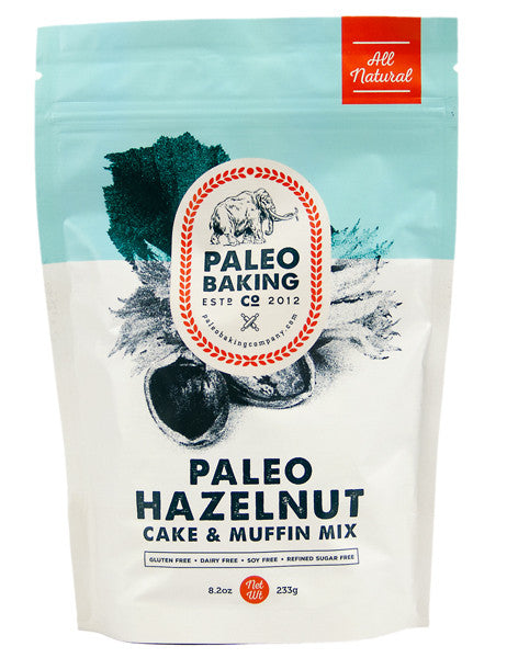 Paleo Hazelnut Cake and Muffin Mix