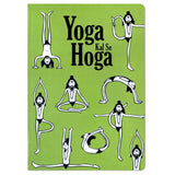 Yoga Olive Ruled Notebook
