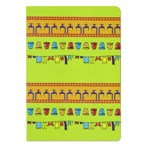 Dhobi Ghat Ruled Notebook