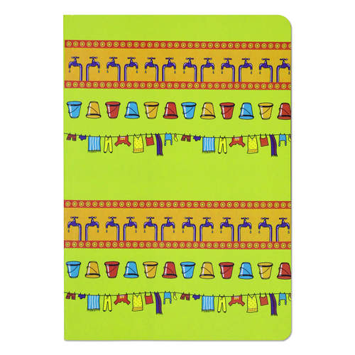 Dhobi Ghat Unruled Notebook