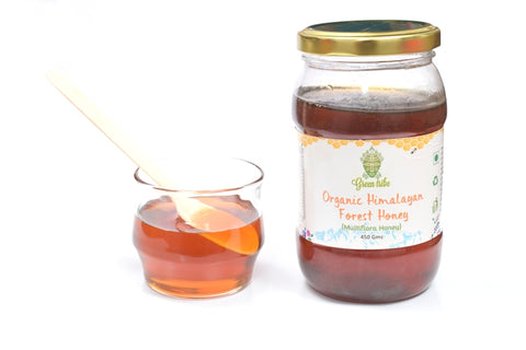 Organic Himalayan Forest Honey  (450 g)