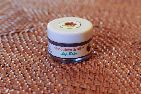 Chocolate & Mint Lip Balm