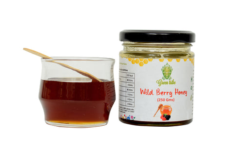 Natural Wild Berry Honey (250g)