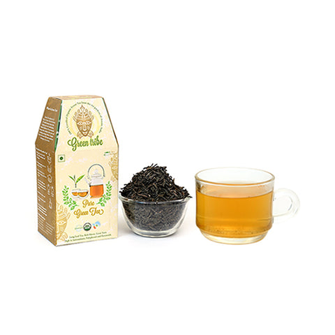 Organic Green Tea Box  (75 g)
