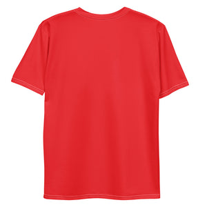Men's T-shirt - Men's Red t-shirt Frank Libéria