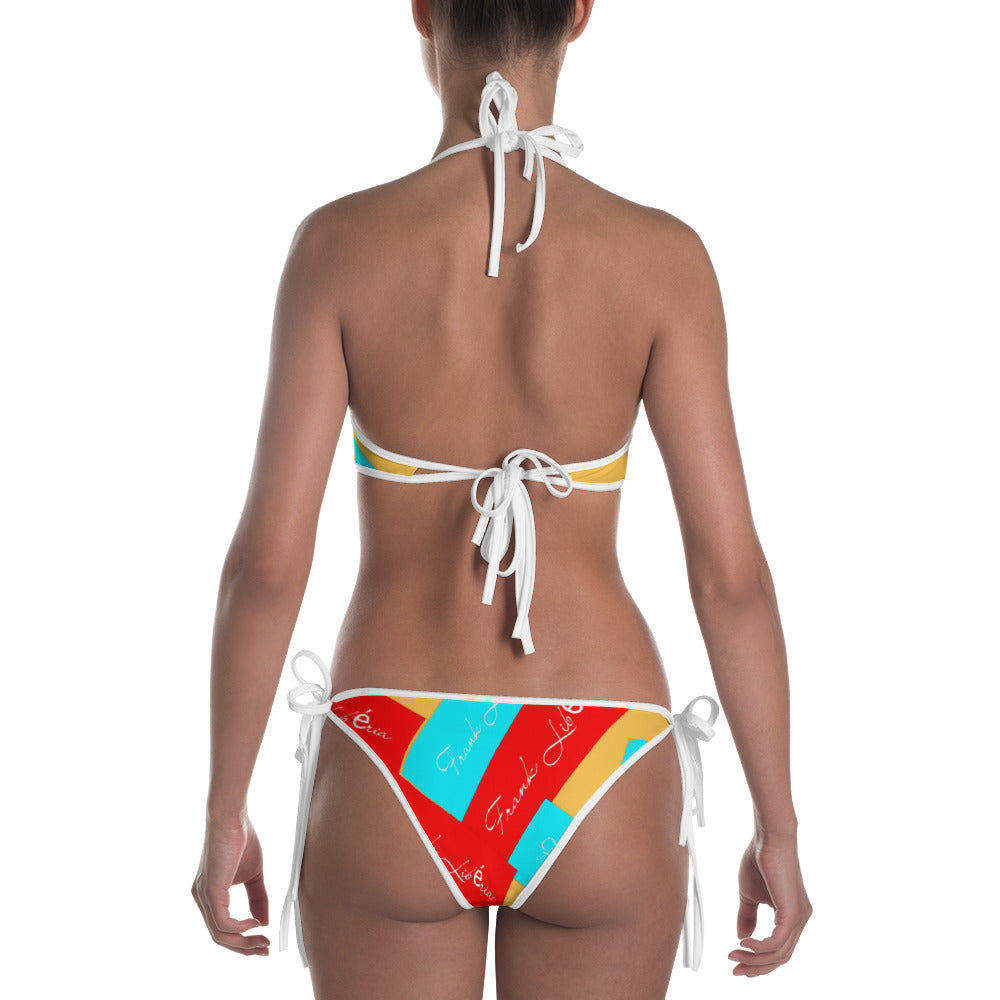 Bikini: Bikini with many colors Frank Libéria