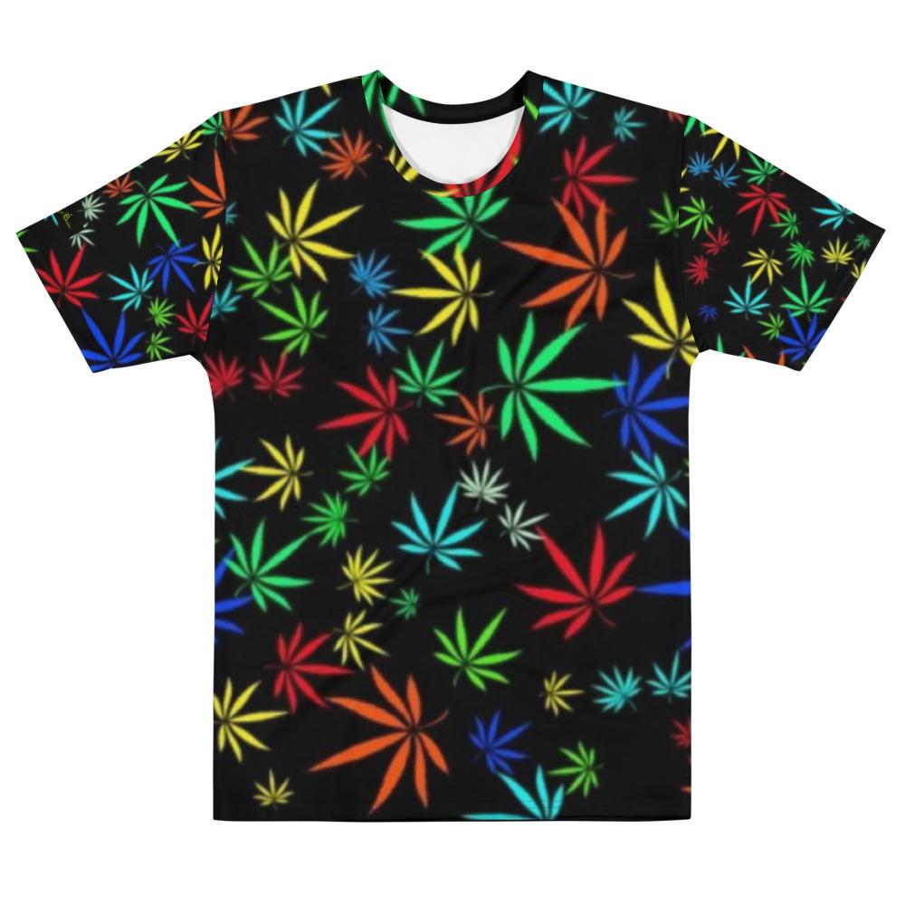 Men's T-shirt Frank Libéria (pattern Marijuan..)