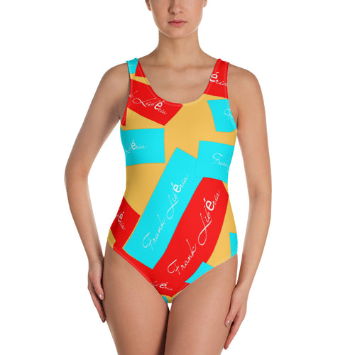 Swimsuit: One-Piece Swimsuit with many colors Frank Libéria