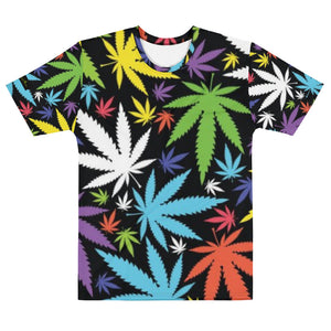 Men's T-shirt FRANK LIBÉRIA ( pattern Marijua..)