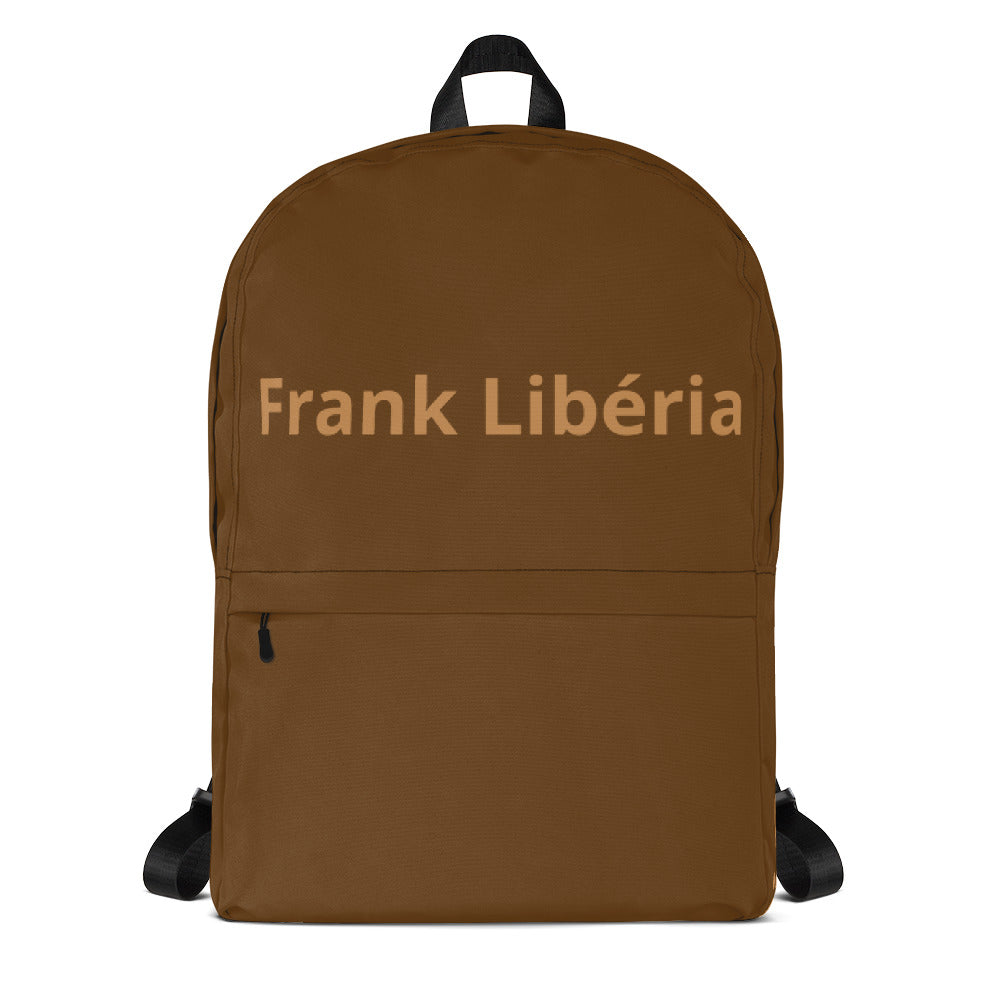 Backpad | Bag Frank Libéria (Brown)