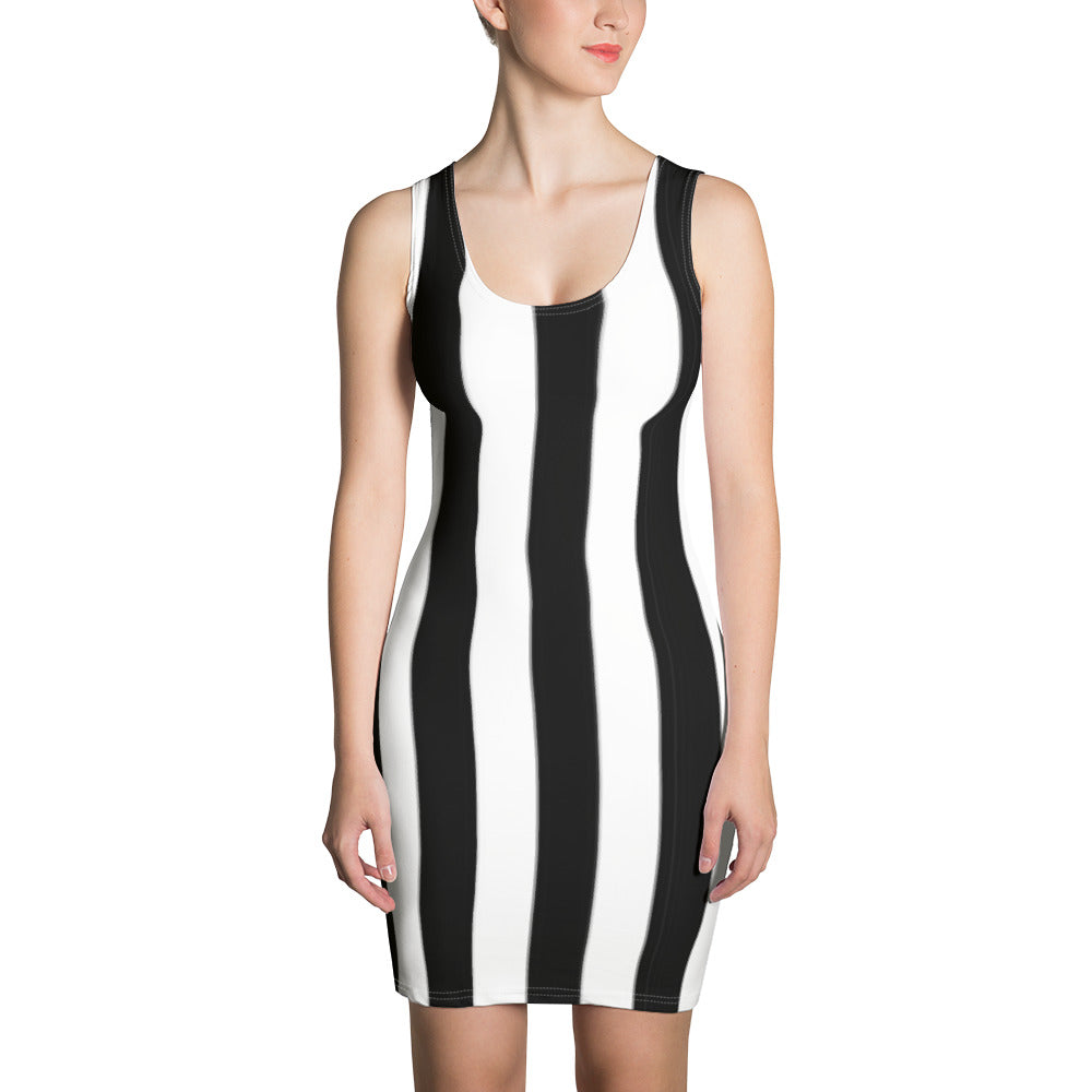 Dress Frank Libéria (white&black)