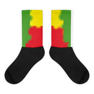 Socks Frank Libéria| jamaican color