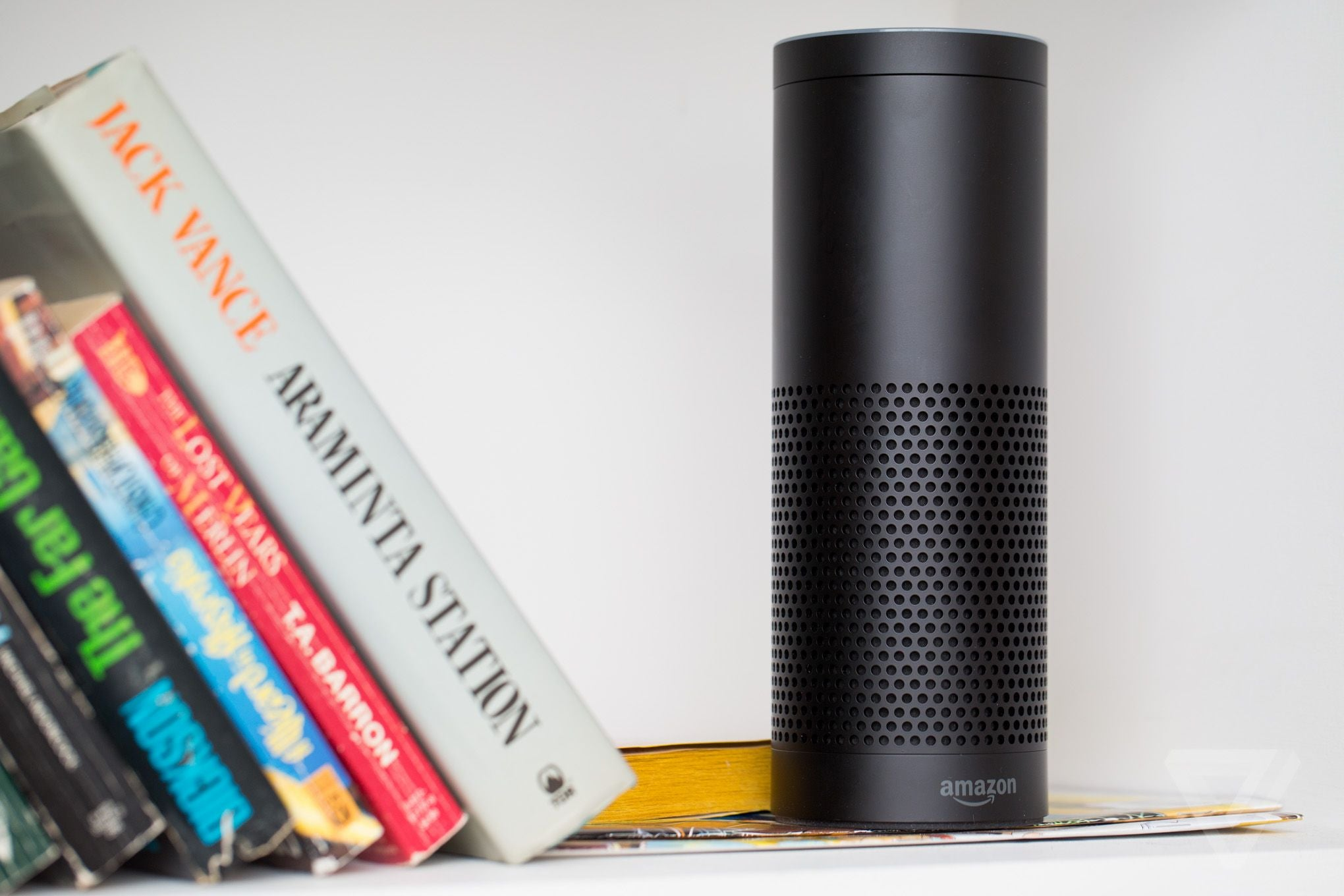 Amazon Echo photo from TheVerge.com