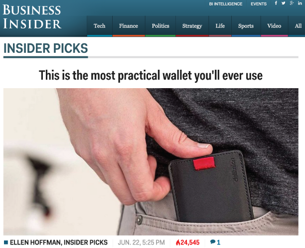 Feature Friday | Insider Pick at Business Insider - Distil Union