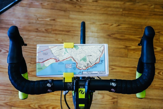 Life Ultral Light bike map holder on Kickstarter
