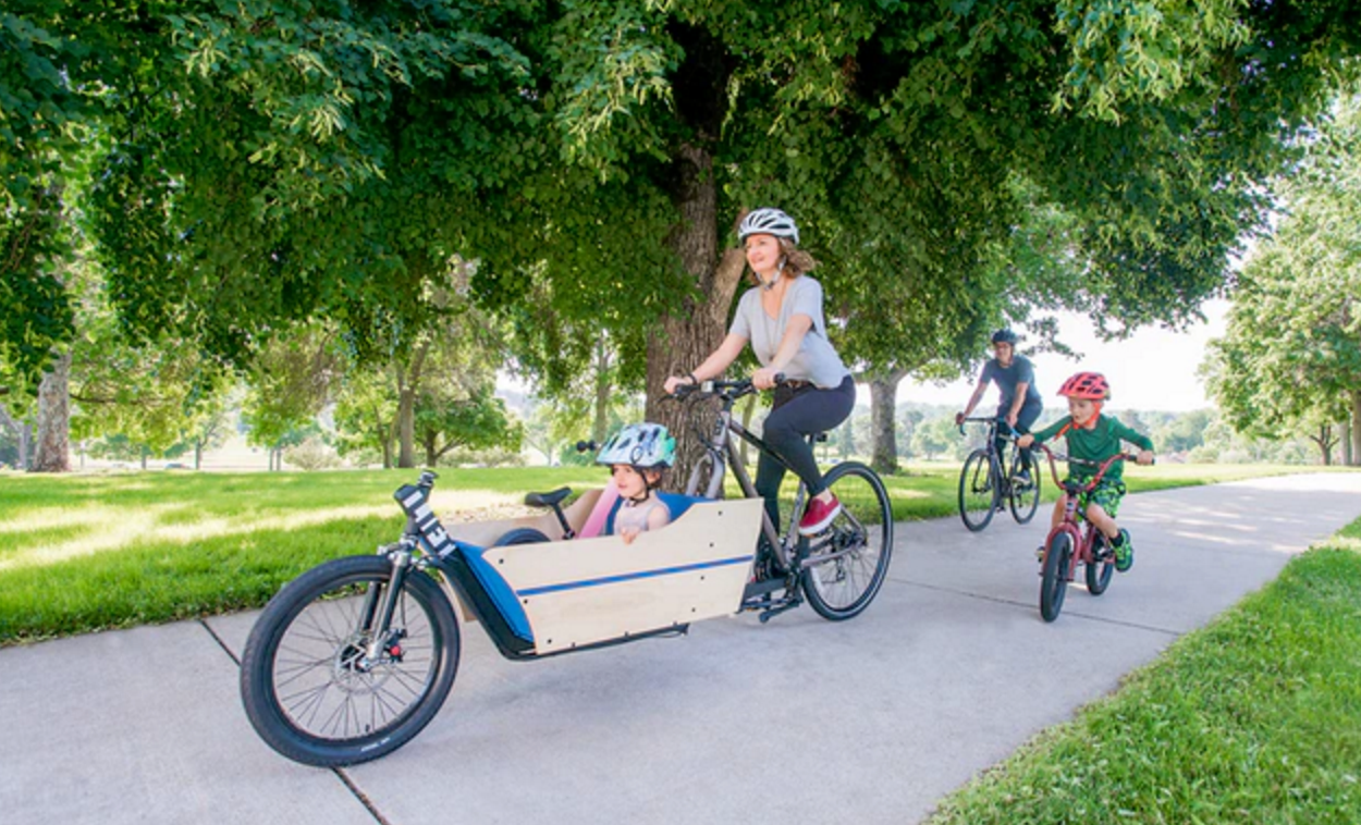 The LIFT Cargo Bike on Kickstarter!