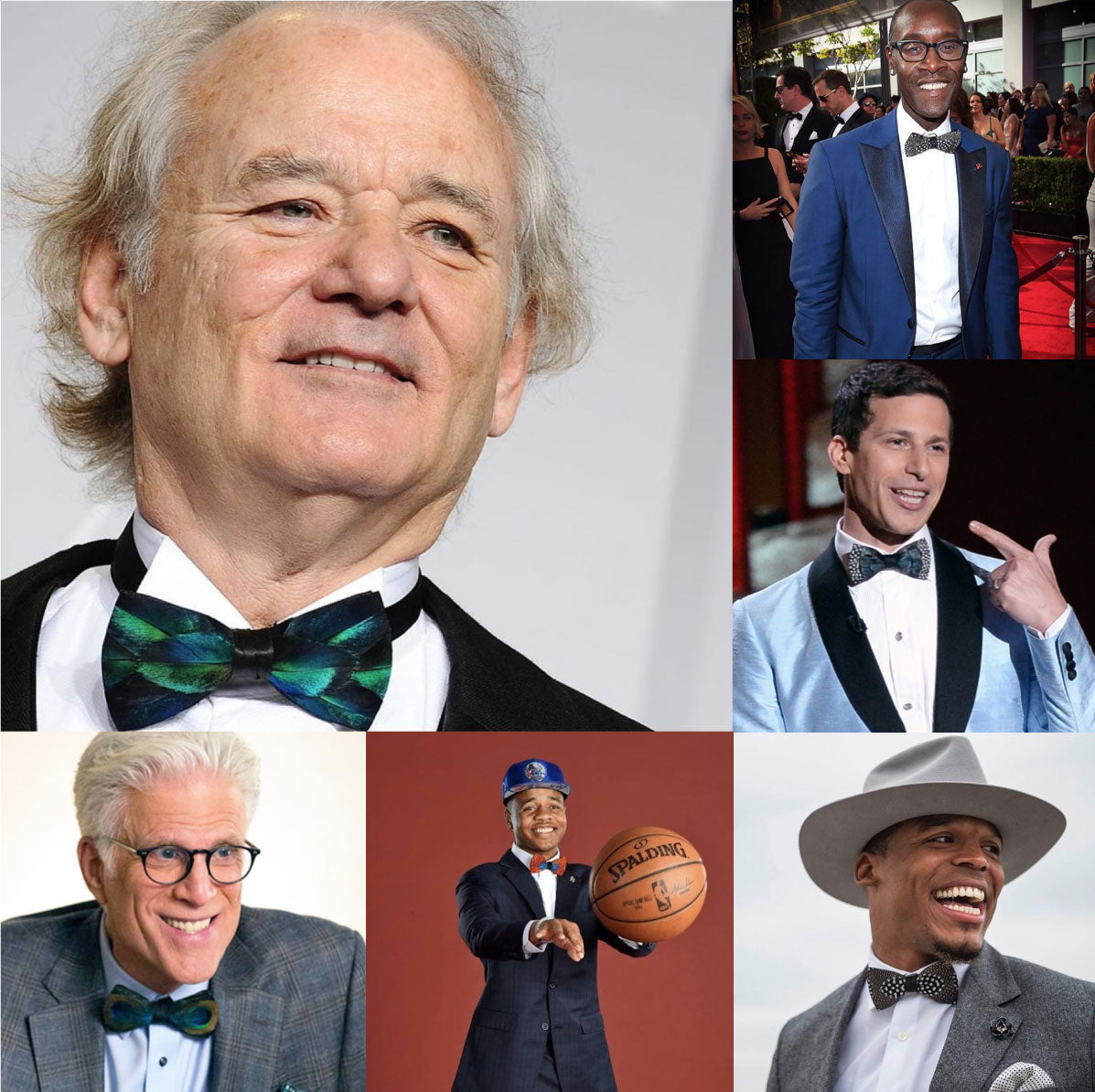Brackish Bowties are popular among celebrities like Bill Murray, who is awesome