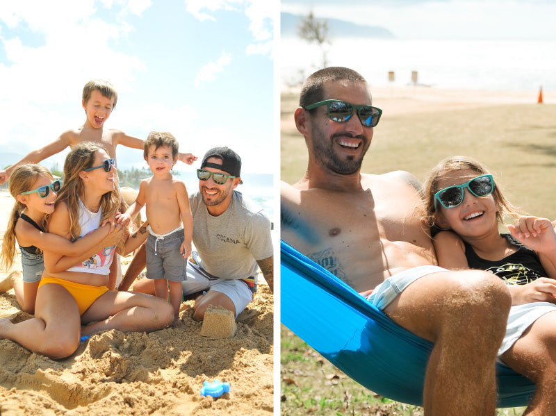 MagLock Sunglasses are fun in the sun for the whole family