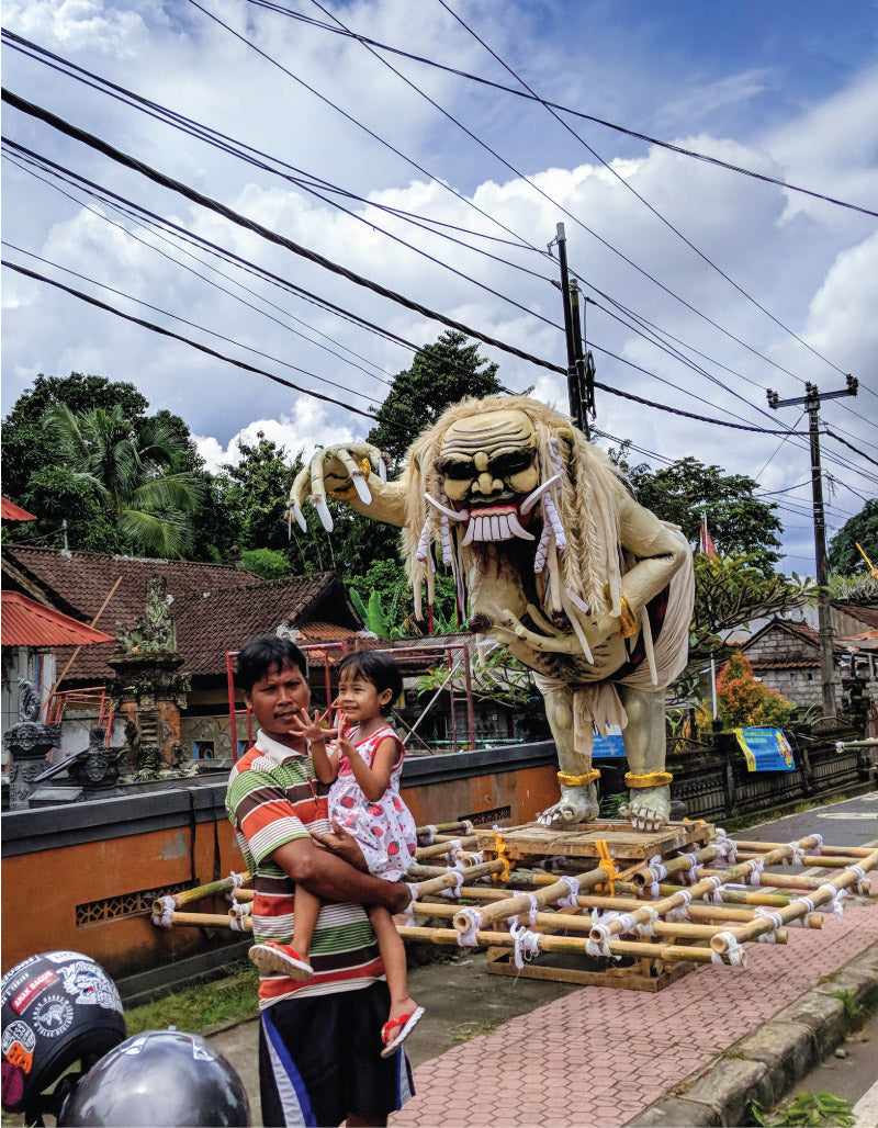 Ogoh Ogoh in Nyepi Parade, Bali, Indonesia, by Distil Union