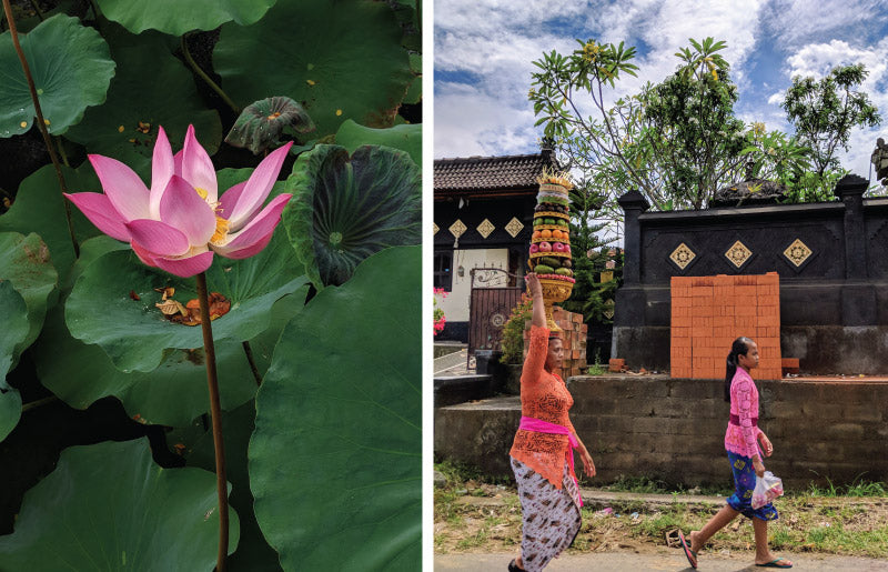 Lily and women in Bali, Indonesia, by Distil Union