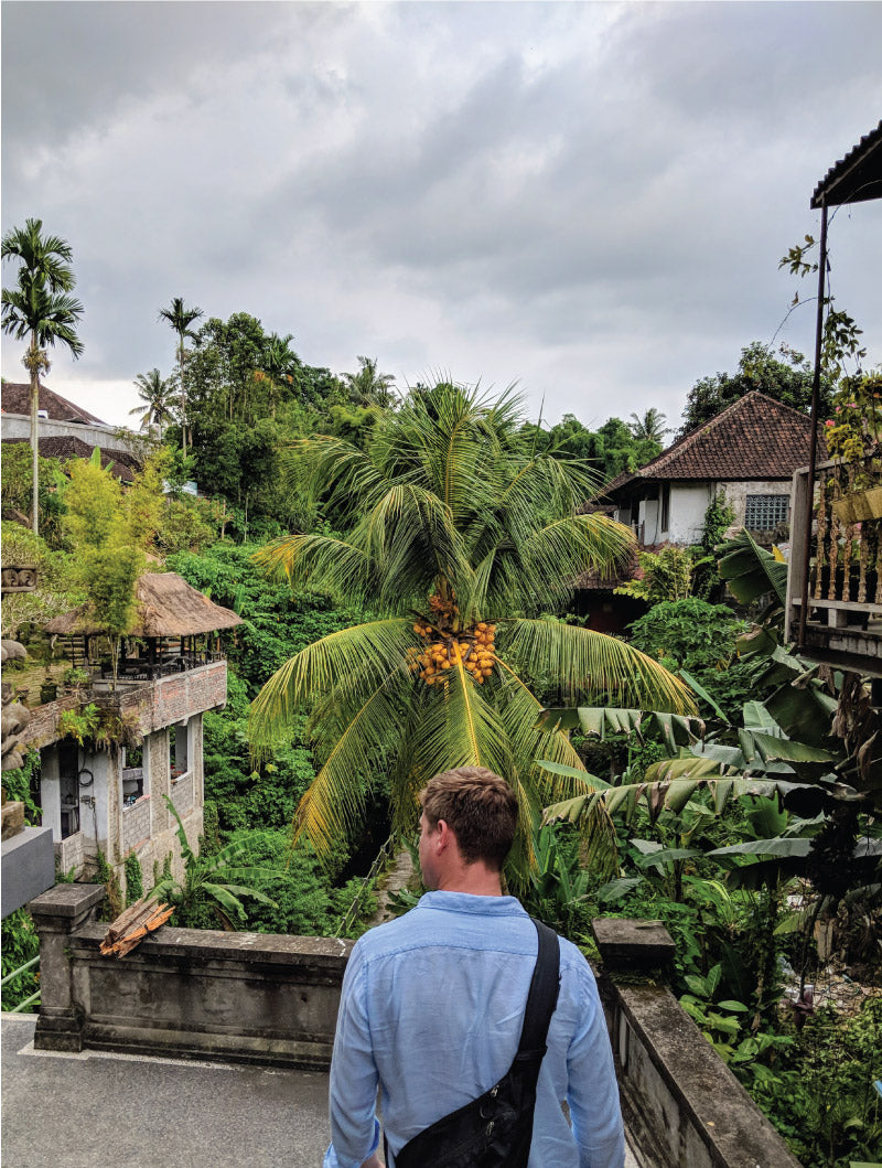 Nate explores Ubud, Indonesia, by Distil Union