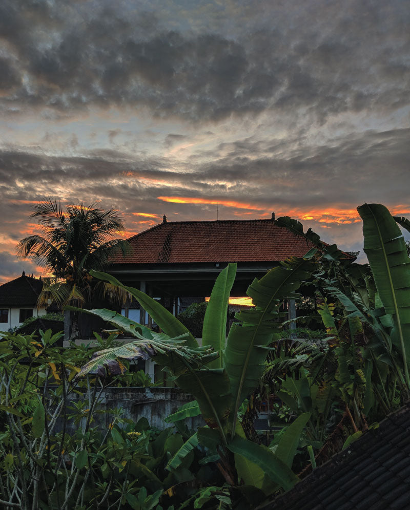 Dark Sunrise in Ubud, Bali, Indonesia by Distil Union